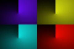 Transizione astratta di colore di pendenza Immagine Stock