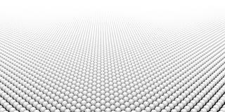 Transizione bianca delle palle al fondo bianco di colore royalty illustrazione gratis