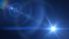 Transizione blu-chiaro trasparente Fotografia Stock