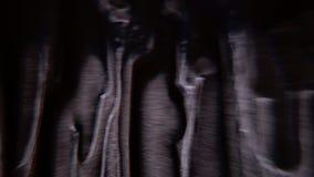 Transizione di colore sulla superficie di vetro archivi video