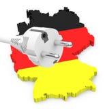 Transizione tedesca di energia Immagine Stock