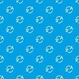 Translating pattern seamless blue Stock Photo
