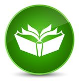 Translation icon elegant green round button Royalty Free Stock Photography
