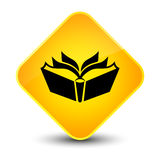 Translation icon elegant yellow diamond button Royalty Free Stock Photography
