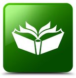 Translation icon green square button Royalty Free Stock Photography