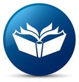 Translation icon blue round button Royalty Free Stock Photo