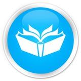 Translation icon premium cyan blue round button Stock Images