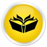 Translation icon premium yellow round button Royalty Free Stock Photography