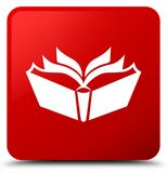 Translation icon red square button Royalty Free Stock Photography
