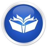 Translation icon premium blue round button Royalty Free Stock Photography
