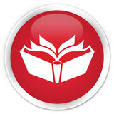 Translation icon premium red round button Royalty Free Stock Image