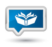 Translation icon prime blue banner button Stock Images