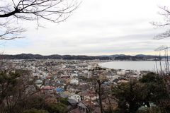Free Translation: Lookout View Of Kamakura City, From Hase-dera Or Ha Royalty Free Stock Photography - 118675527