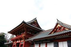 Translation: Shrine complex of Tsurugaoka Hachimangu of Kamakura. Taken in Kanagawa, Japan - February 2018 royalty free stock images