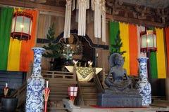 Free Translation: The Buddha Statues Around Kenchoji Zen Temple. One Stock Images - 118676264
