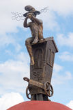 Translation or the Watchman sculpture-Camaguey, Cuba Royalty Free Stock Images