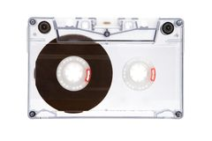Translucent Audio Tape Royalty Free Stock Images