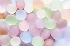 Translucent colored stones Royalty Free Stock Photos