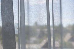 Translucent curtain Stock Photo