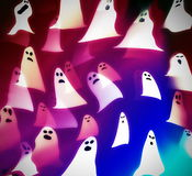 Translucent ghosts, halloween Royalty Free Stock Image