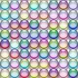 Translucent marbles Royalty Free Stock Photos