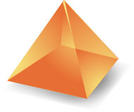 Translucent pyramid Stock Image
