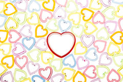 Translucent red heart Royalty Free Stock Photo