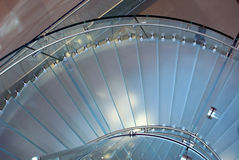 Translucent stairs Royalty Free Stock Photos
