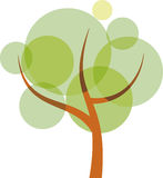 Translucent tree Royalty Free Stock Photography