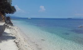 Translucent water Cebu island Philippines. Natural landscapes from Philippines Stock Photos