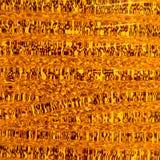 Translucide en verre orange gentil avec la lumière image stock