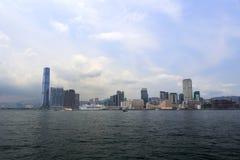 Transmarint av kowloon, Hong Kong Arkivbilder