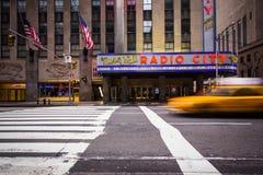 Transmettez par radio le théâtre de variétés de ville Photographie stock libre de droits