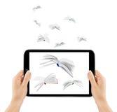 Transmisión informativa Imagen de archivo libre de regalías