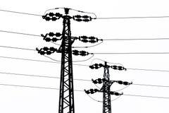 Transmisión-línea Fotografía de archivo libre de regalías