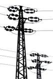 Transmisión-línea Foto de archivo libre de regalías