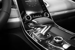 Transmisión automática del coche Foto de archivo