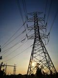 Transmision tower Stock Photos