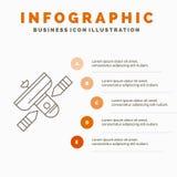 Transmisja, transmitowanie, radio, satelita, nadajnika Infographics szablon dla strony internetowej i prezentacja, Kreskowa Szara ilustracji