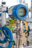 Transmisor de la temperatura Fotografía de archivo libre de regalías