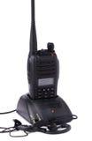 Transmisor portátil de la radio UHF Imágenes de archivo libres de regalías
