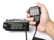 Transmisor-receptor de radio móvil Imágenes de archivo libres de regalías