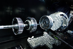 Transmissão automática de Mercedes Imagens de Stock