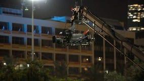 Transmissão da câmara de televisão durante o concerto vivo, 120fps filme