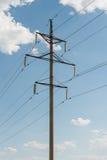 Transmissão da eletricidade Foto de Stock Royalty Free