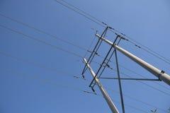 Transmissão de energia Fotografia de Stock Royalty Free