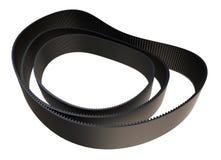Transmission belts. Several transmission rubber belts, ribbed royalty free illustration