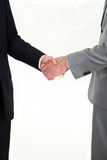 Transmission bribes. The transfer of money from hand to hand Royalty Free Stock Photography