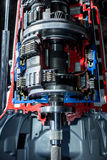 Transmission of car top view Stock Photography