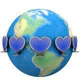 Transmission d'amour Image libre de droits